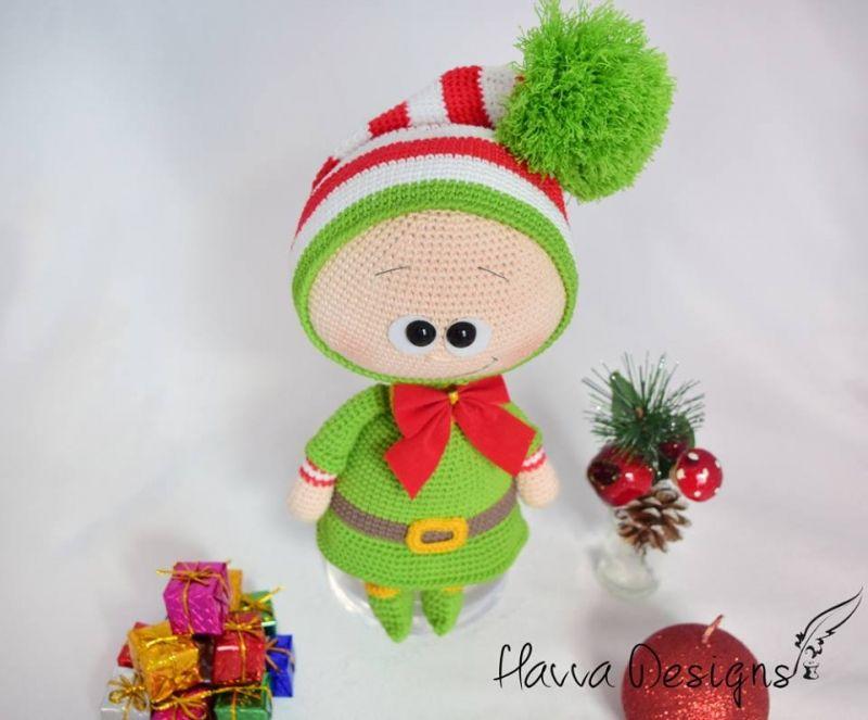 Bonnie With Elf Costume Amigurumi Pattern By Havva Designs Havva