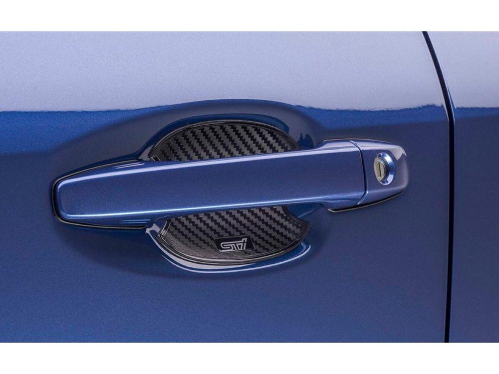 Subaru Sti Door Handle Cup Protector Part No J1210fl500 Subaru Wrx Subaru Subaru Accessories