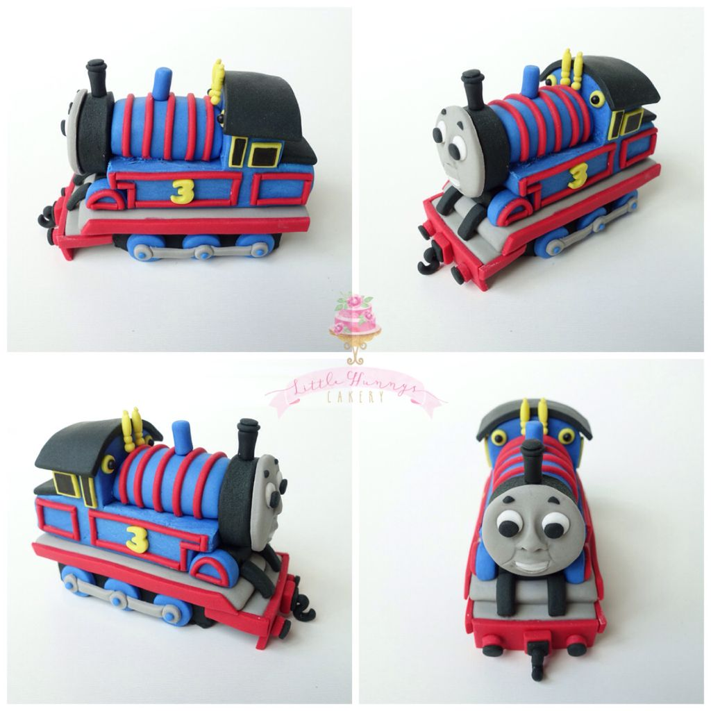 Thomas the Train cake topper by Little Hunnys Cakery (all ...