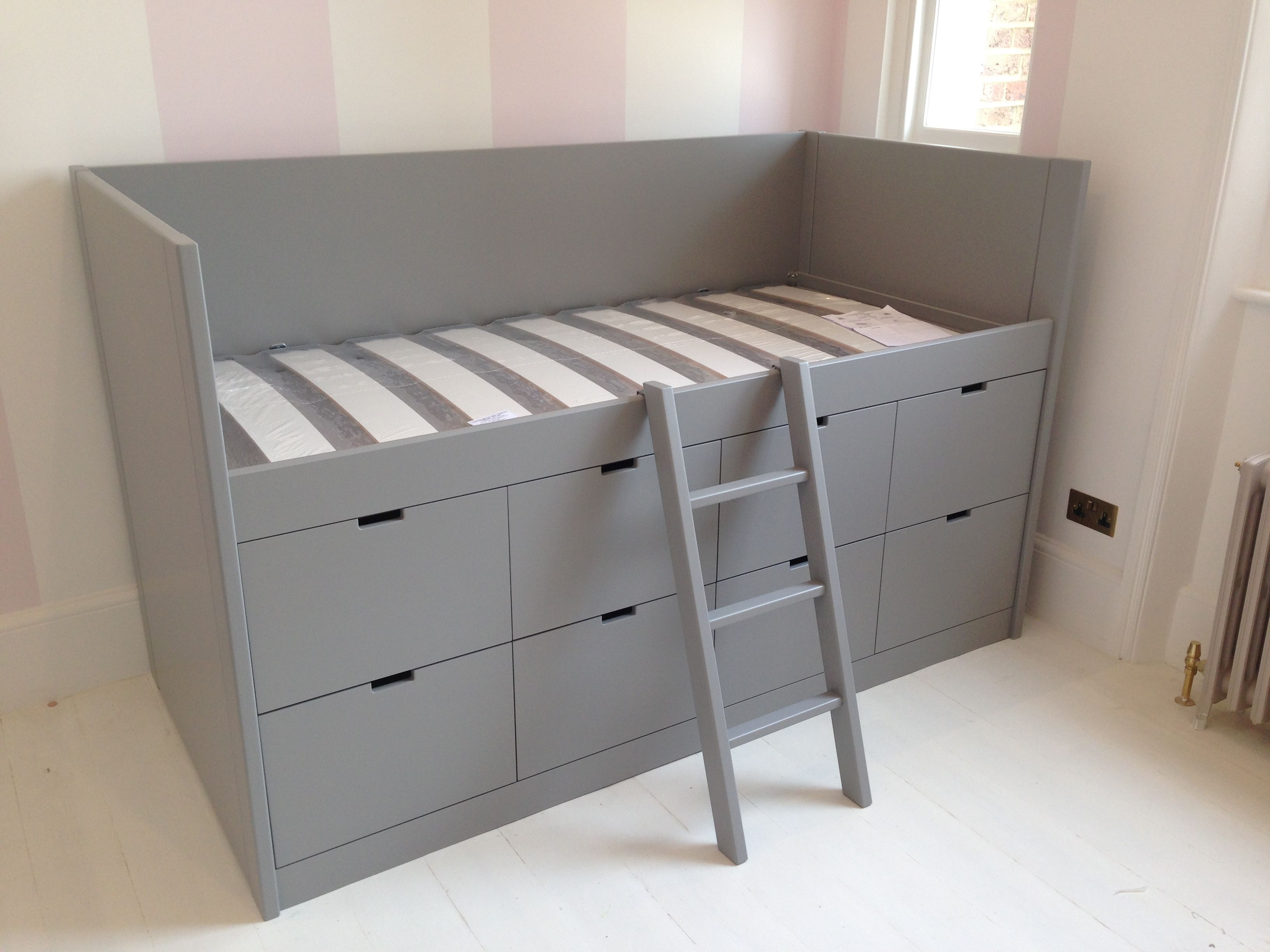 Turn crib into toddler loft bed  Pin by Oshri u aviad Levy on Bedrooms  Pinterest  Bedrooms