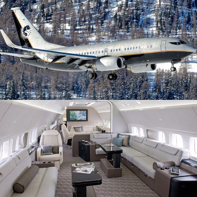 World Wide Luxury On Instagram Boss Vip 737 Follow Elevatejets For The Hottest Jets In The World Elevateje Boeing Business Jet Cafe Racer Honda Luxury
