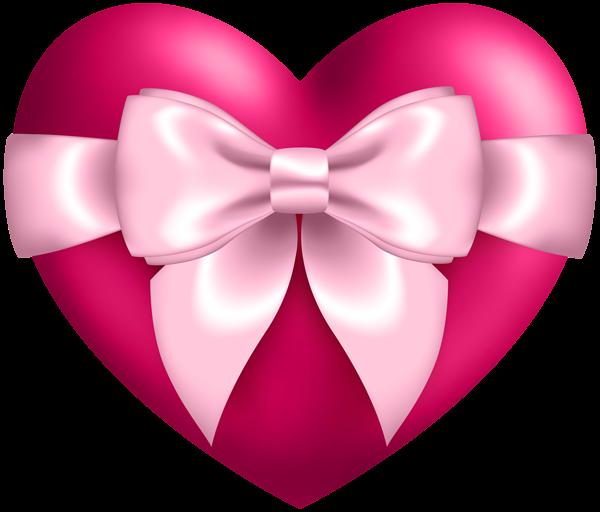 Heart With Bow Transparent Png Clip Art Clip Art Heart Wallpaper Heart Art
