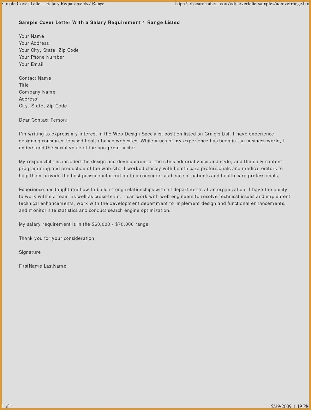 Valid Expression Of Interest Letter Sample Cover Letter For