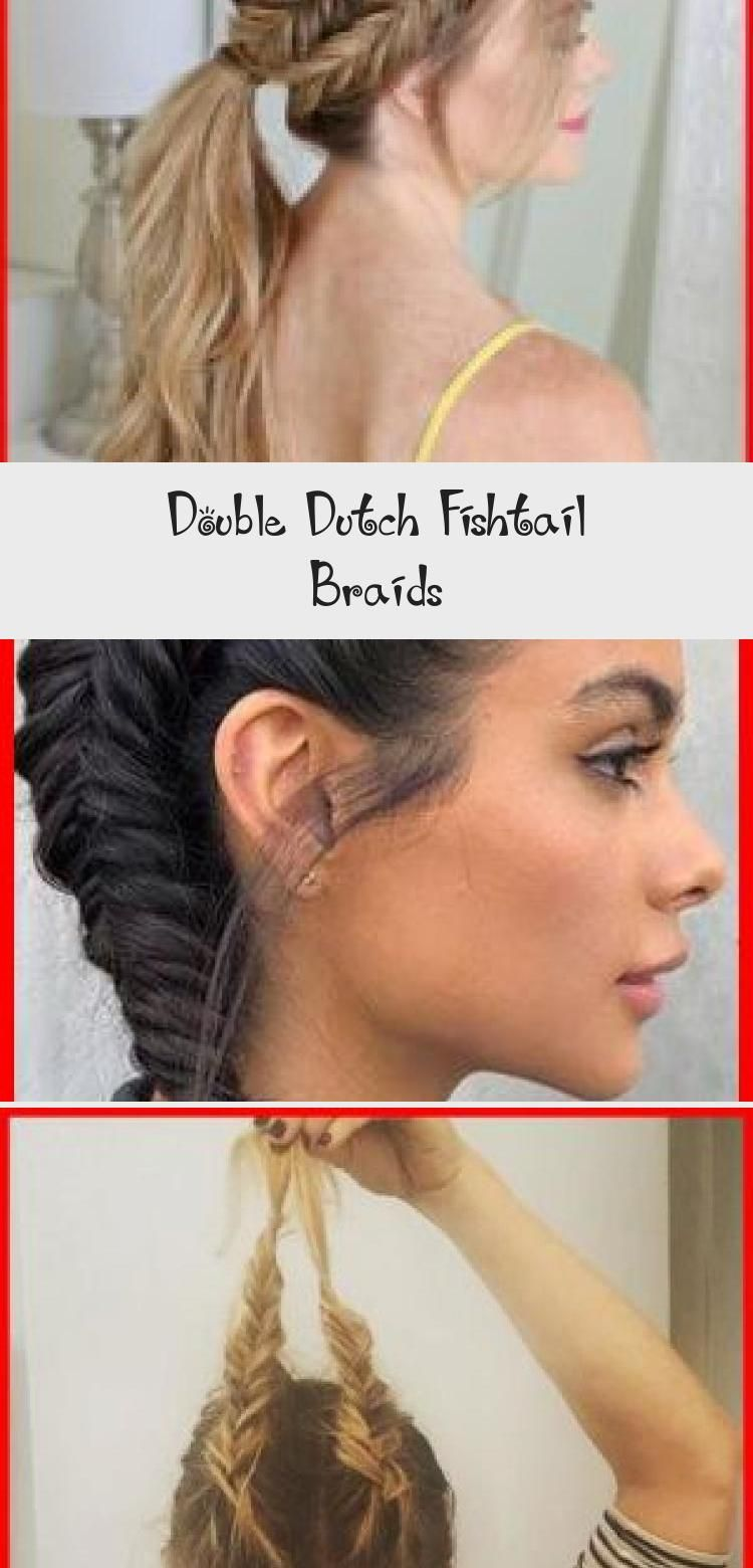 Double Dutch Fishtail Braids, Today I'm excited to be sharing these gorgeous double dutch fishtail braids. This is such a great style for summer and the different styles can be w..., Braids Hairstyles #Prettyhairstyles #Headbandhairstyles #Bandanahairstyles #Bunhairstyles #hairstylesDrawing