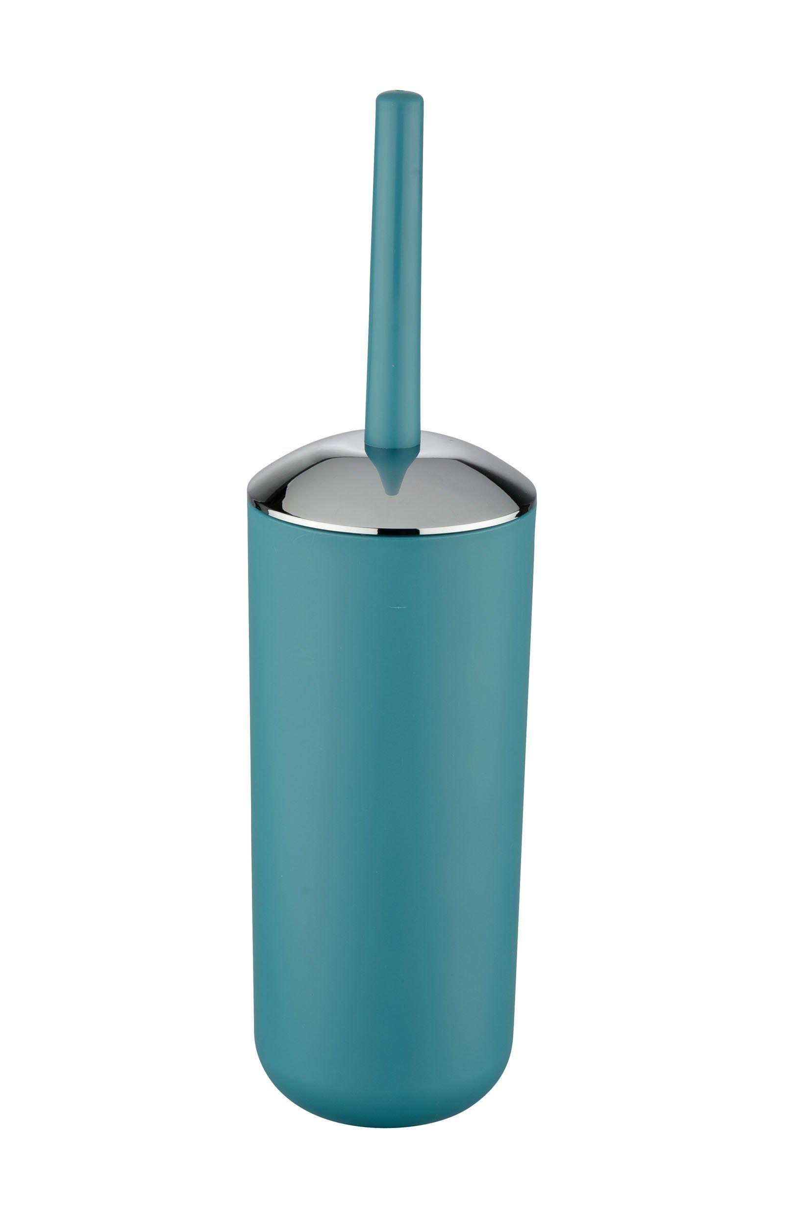 Wenko 21225100 Wc Garnitur Brasil Absolut Bruchsicher Thermoplastischer Kunststoff Tpe 10 X 37 X 10 Cm Petrol Amazon De Kuche Haushalt