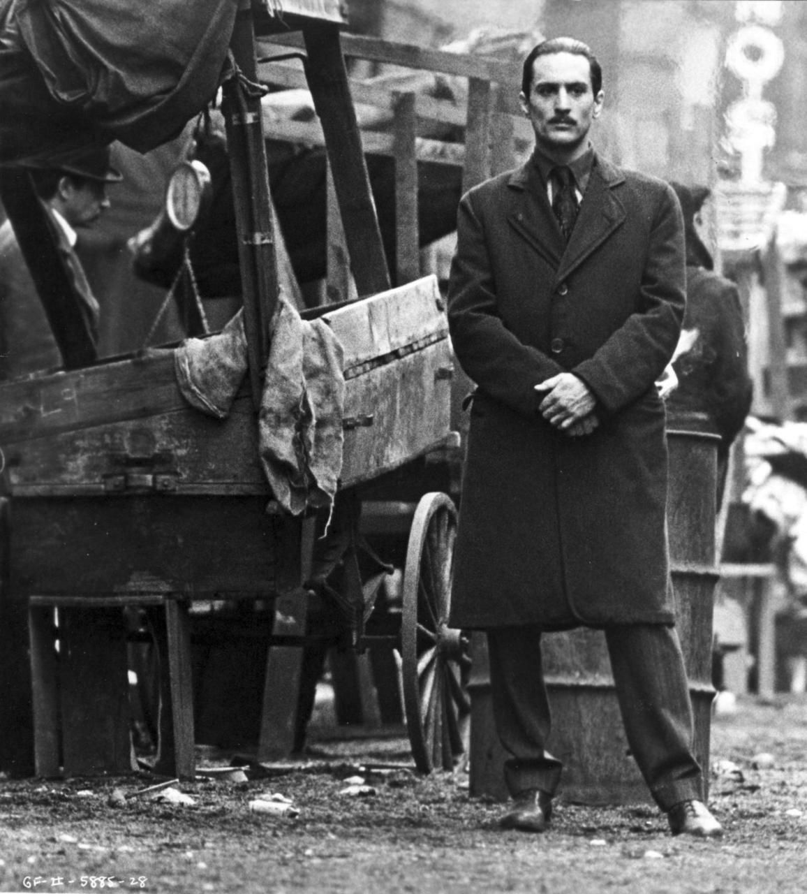 Robert De Niro in The Godfather II. One of the best performances ever! |  The godfather part ii, Godfather movie, The godfather