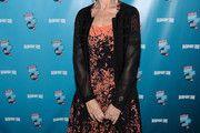 Helen Mirren Print Dress
