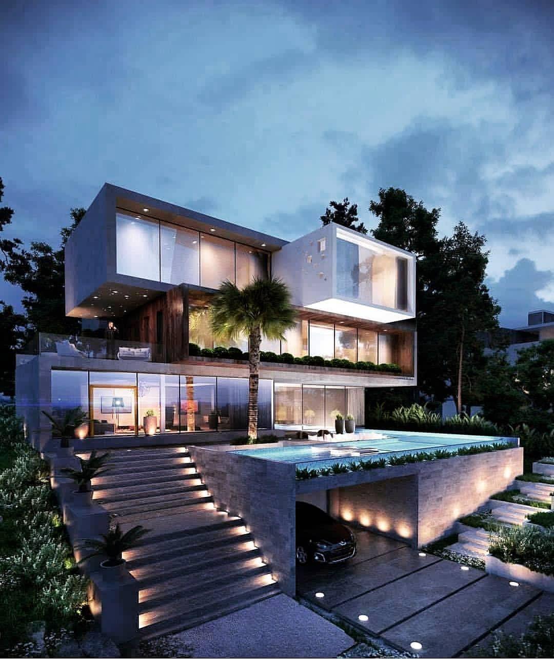 Hᴏᴜsᴇ Iɴsᴘɪʀᴀᴛɪᴏɴ On Instagram House Goals Rate It Follow My House Inspiration For Mo Luxury House Designs Luxury House Plans Modern House Design
