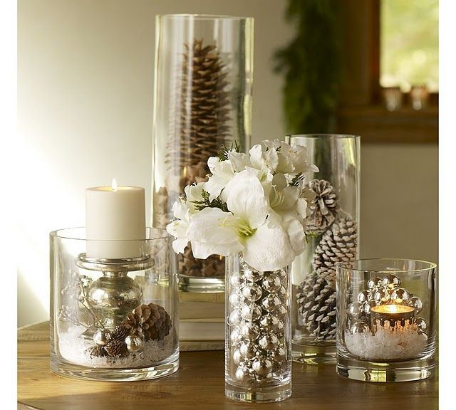 console Christmas decor | Uploaded to Pinterest