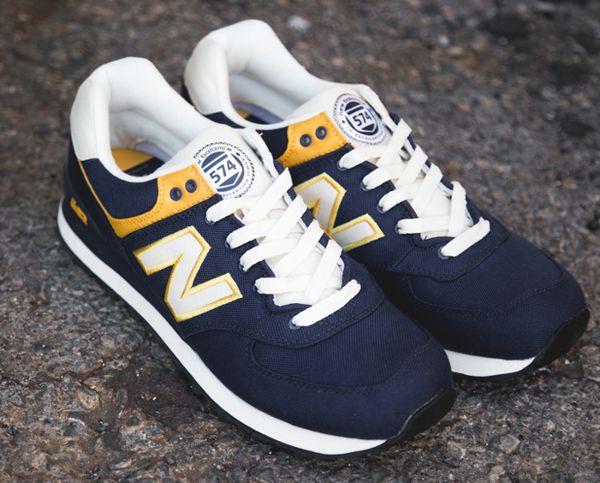 Où acheter la New Balance 574 « Rugby » Navy/Yellow ? | New Balance ...