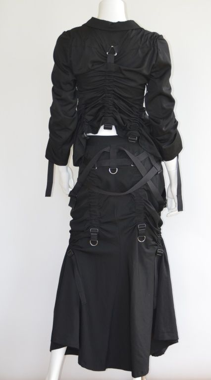 Women's Clothing Junya Watanabe Comme Des Garcons Ad 2002 Long Skirt Clothing, Shoes & Accessories