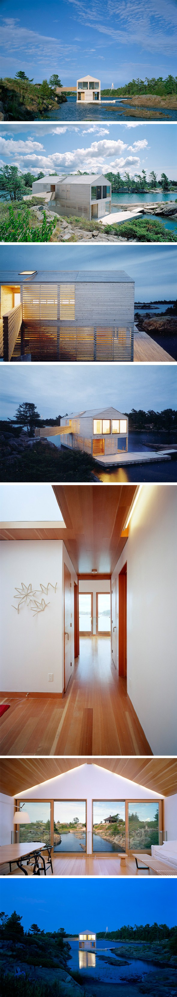 Architecture · Floating House Par MOS Architects