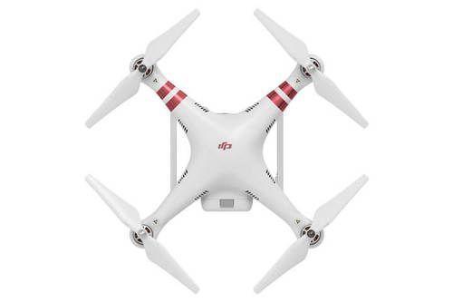 Top View Of The DJI Phantom 3 Standard Quad Drone