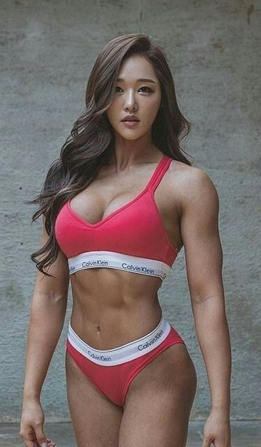 fitness girls model muscle Hot
