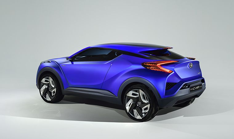 Toyota Global Site | TOYOTA DESIGN | TOYOTA C-HR Concept