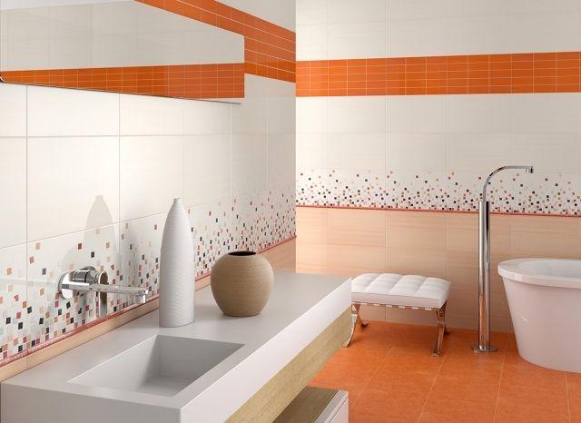Idee Couleur Carrelage Salle De Bain  idées carrelage salle de