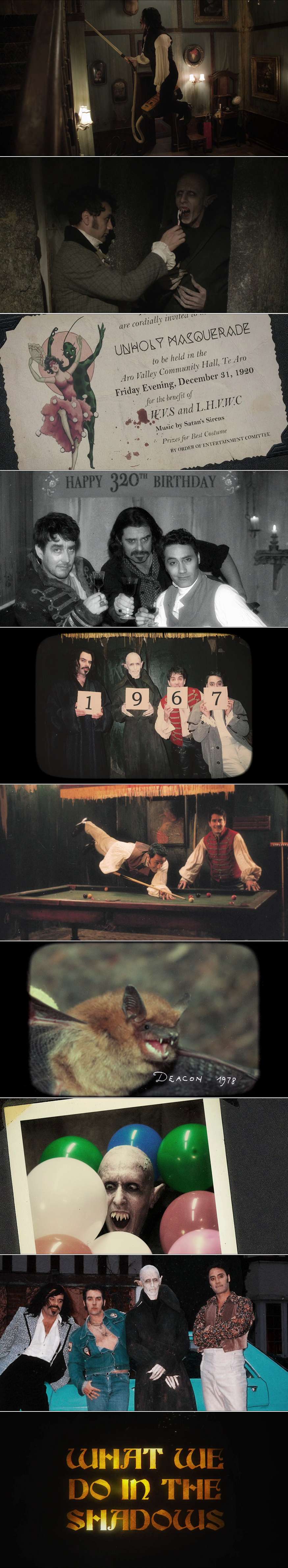 "What We Do In The Shadows: ""Vampires have had a pretty bad rap. We're not these mopey old creatures who live in castles. Well, some… Most of us are. A lot are. But there are also those of us who like to flat together in really small countries like New Zealand."""