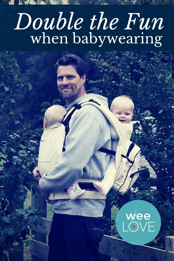 Weelove Go From Hands Full To Hands Free Twins Twin Carrier