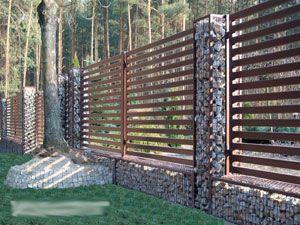 Gabion Fence Posts Icin Resim Sonucu Gabion Fence Fence Design