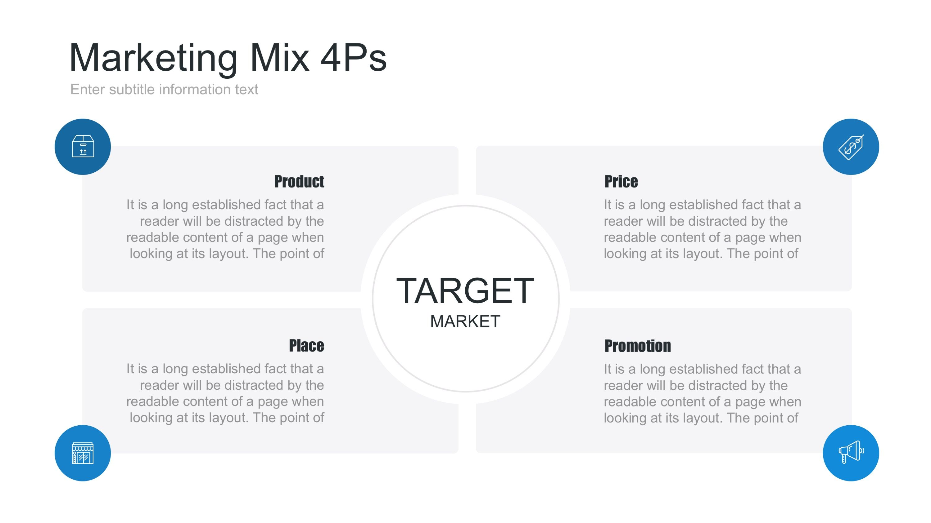 Marketing Mix Powerpoint Template With Images Swot Analysis