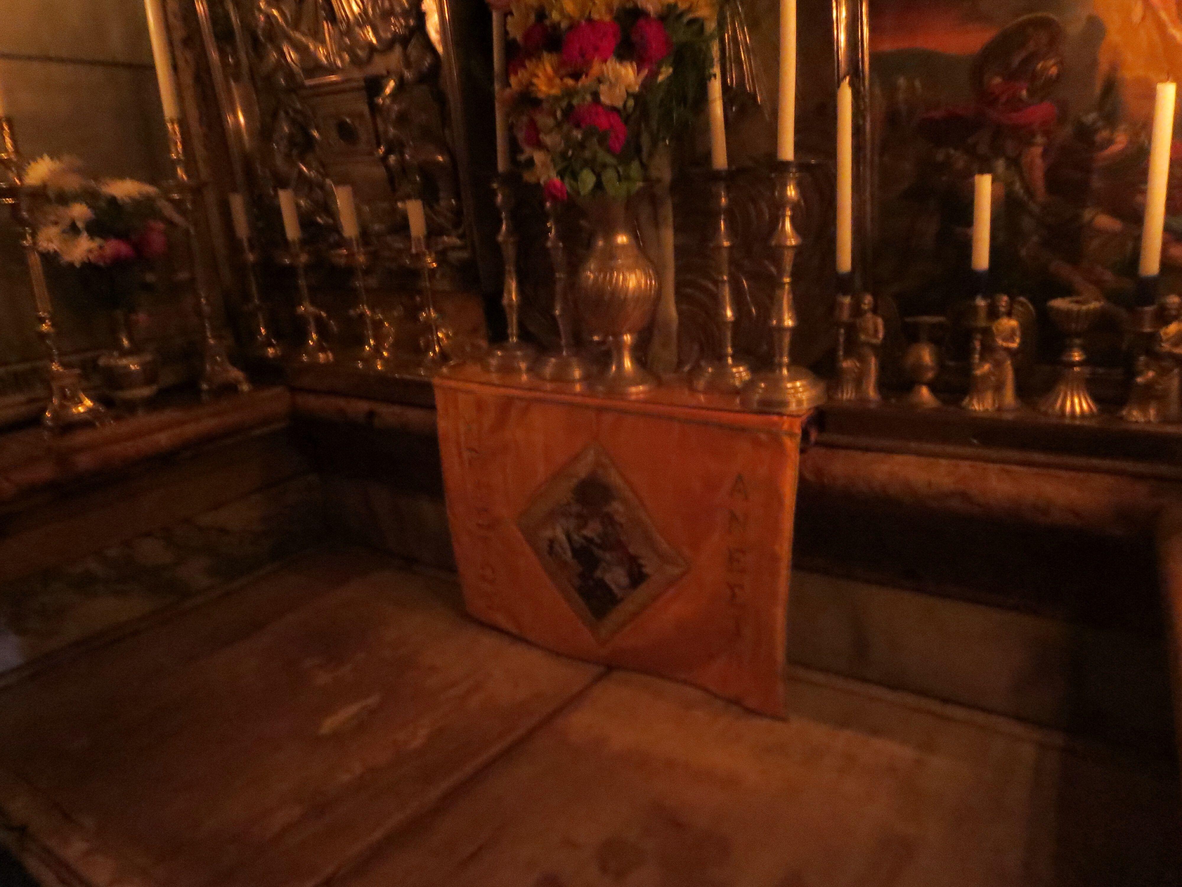 Wnetrze Grobu Panskiego Wnetrze