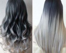 5 star seller black to grey ombre hair extensions silver hair 5 star seller black to grey ombre hair extensions silver hair grey hair pmusecretfo Images