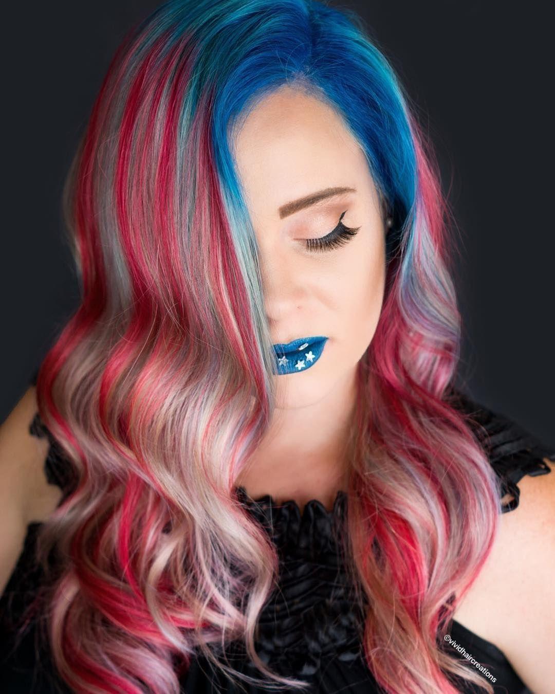 Vividhaircreations Pravanavivids Vivid Hair Color Hair Inspiration Long Hair Styles