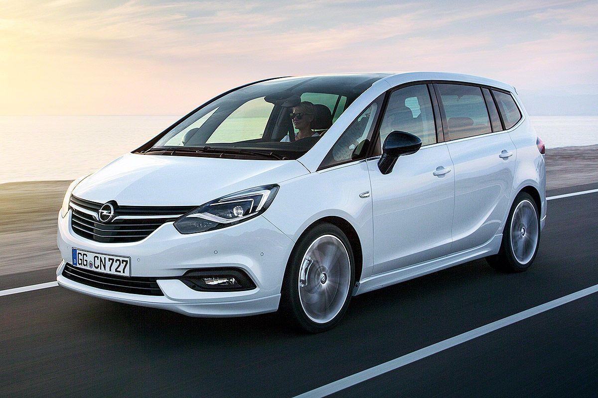 Opel Zafira Facelift 2016 Vorstellung Infos Und Preis Opel Vauxhall Car Images