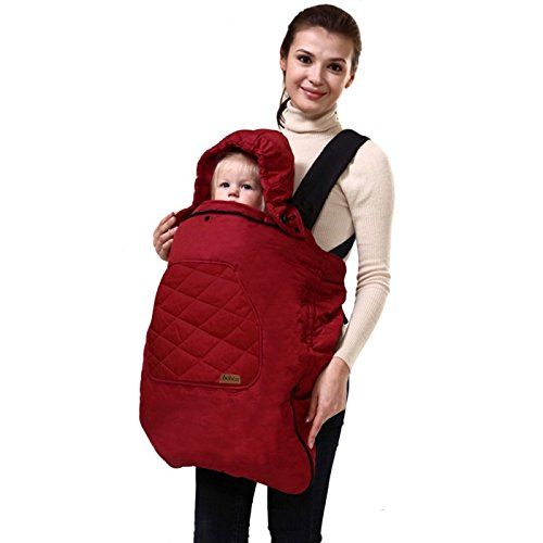 Baby Carrier Sling Cloak Warm Cape Cloak Winter Cover Wind Out Necessary Carry Activity & Gear