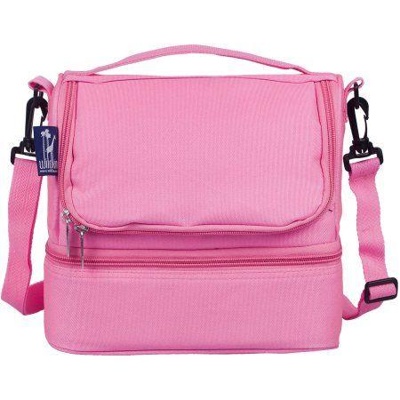 Flamingo Pink Double Decker Lunch Box