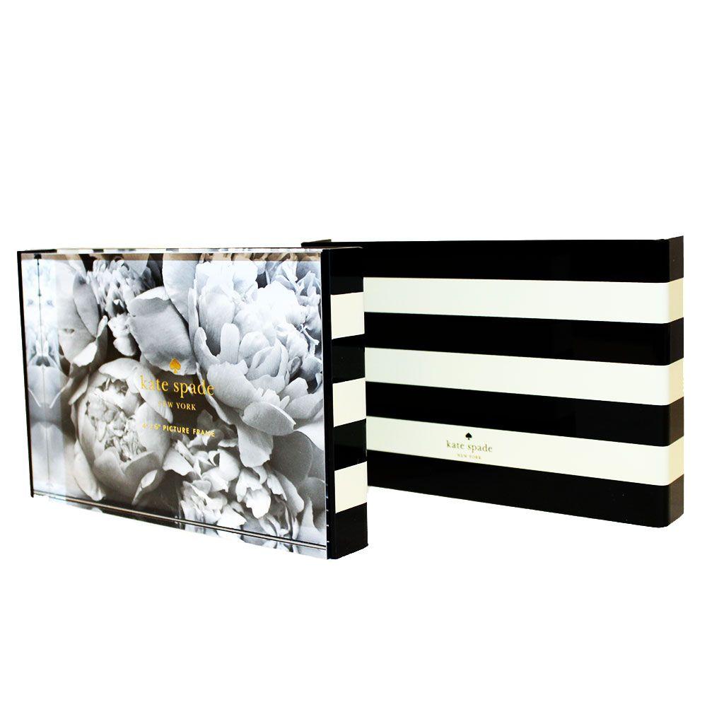 Kate Spade Black Stripe Picture Frame KSP135635 | Home Accents ...