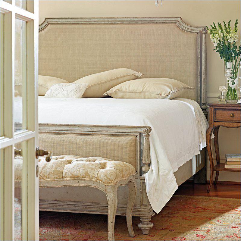 Stanley Furniture Arrondissement Palais Upholstered Bed In Vintage