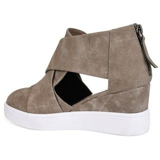 5405b67cc8e Journee Collection Journee Collection Seena Women s D Orsay Wedge Sneakers
