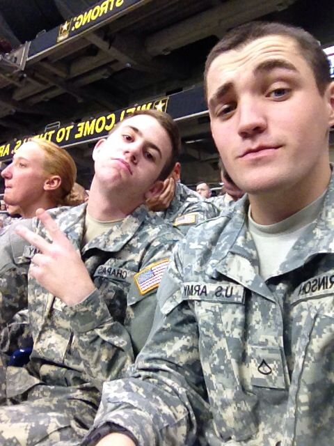 Free time in the army
