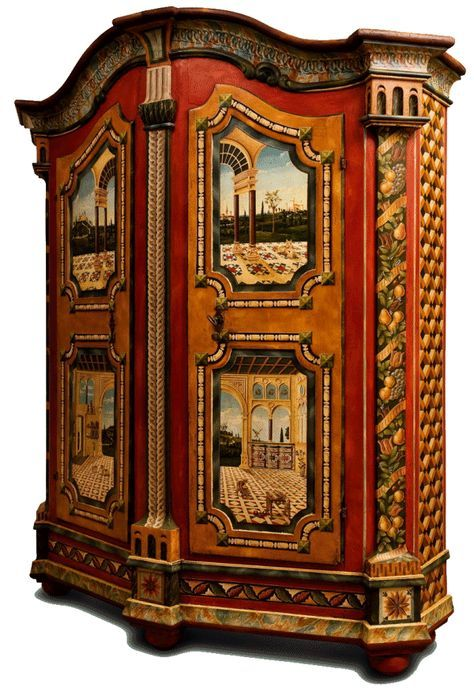 Painted Furniture And Courses Meubles Peints Et Cours Stages Jean Pierre Besenval Painted Furniture Painting Furniture Diy Ornate Furniture
