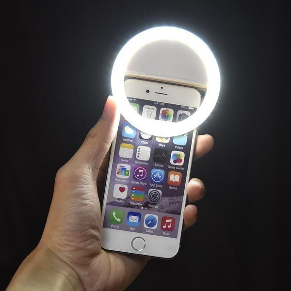 Led Ring Selfie Light For Smartphones Selfie Ring Light Selfie Light Ring Selfie