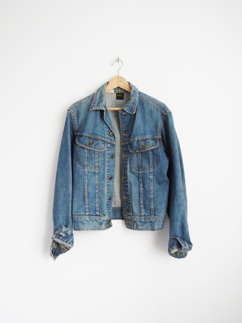 Lee Denim Jacket Vintage Jean Jacket Sold Lee Denim Jacket Vintage Denim Jacket Denim Jacket [ 1333 x 1000 Pixel ]