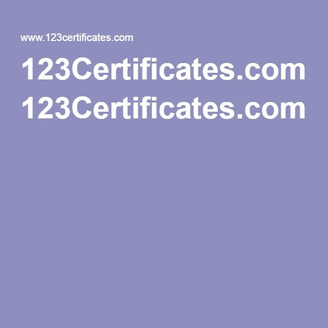 123Certificates.com!   Drama   Pinterest   Drama