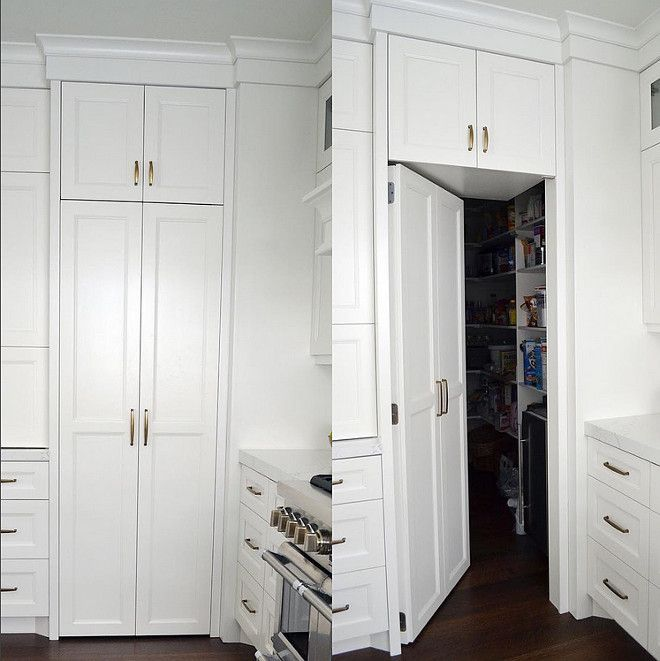 Kitchen Secret Pantry Door This Secret Pantry Door In