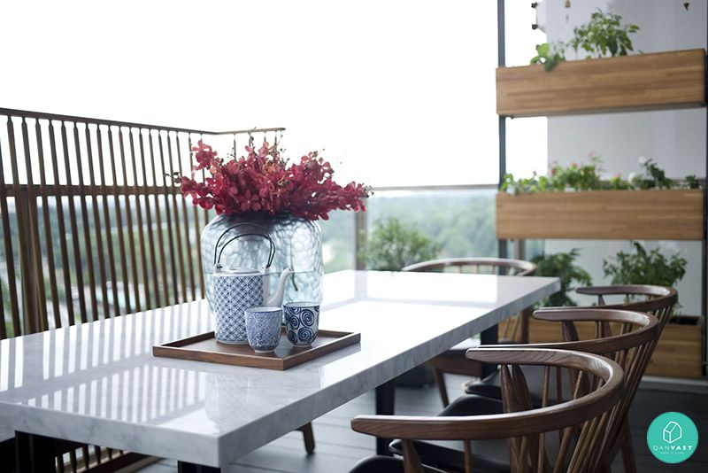 5 Ideas To Invigorate Your HDB/Condo Balcony