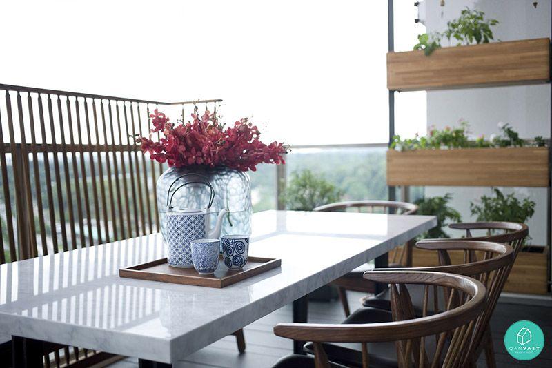 5 ideas to invigorate your hdb condo balcony pinterest for Condo balcony ideas