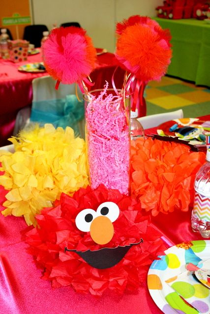 Photo 1 Of 86 Elmo Sesame Street Birthday Rainbow