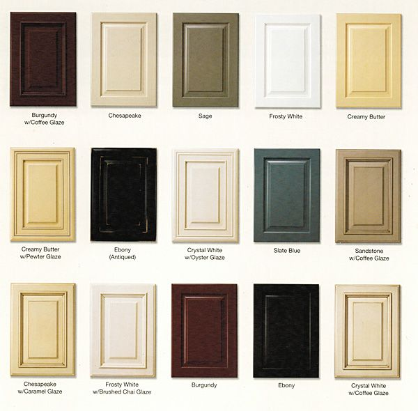 Cabinet Styles Cabinet Samples