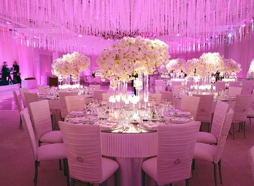 Purple led lights #wedding #decor | Centerpieces | Wedding ...