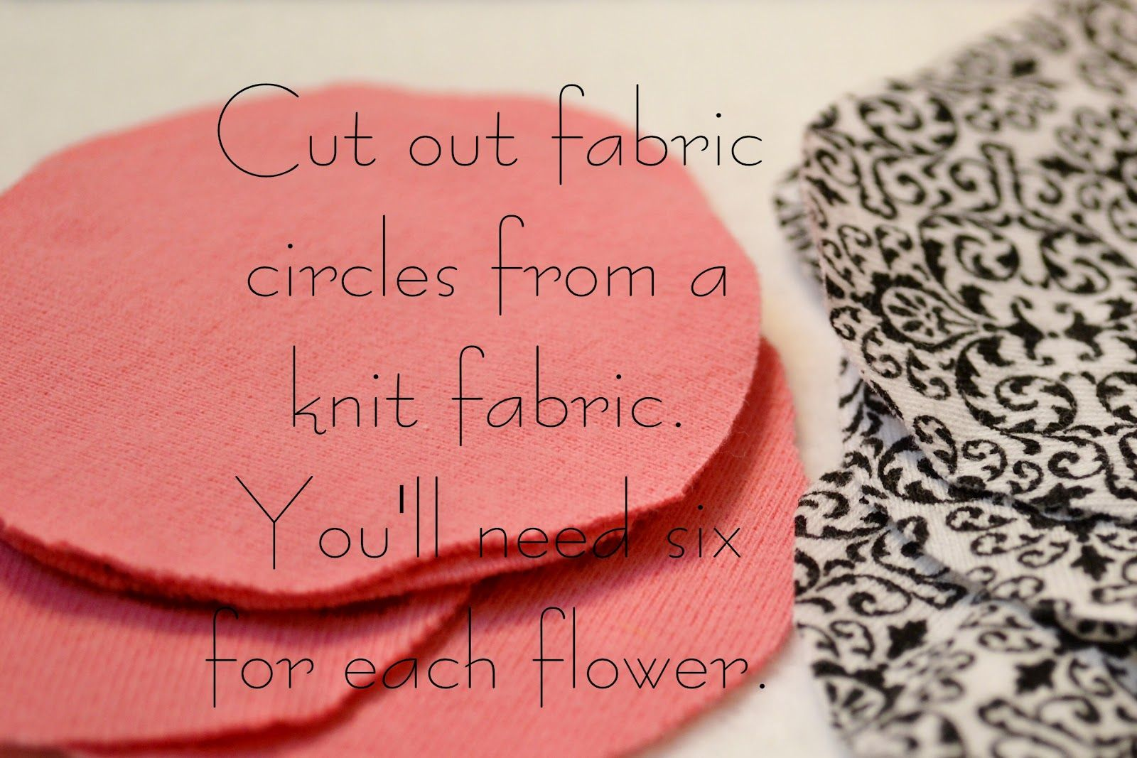 Fabric Pinwheel Flower Tutorial for Hair Bows, Clips and More!