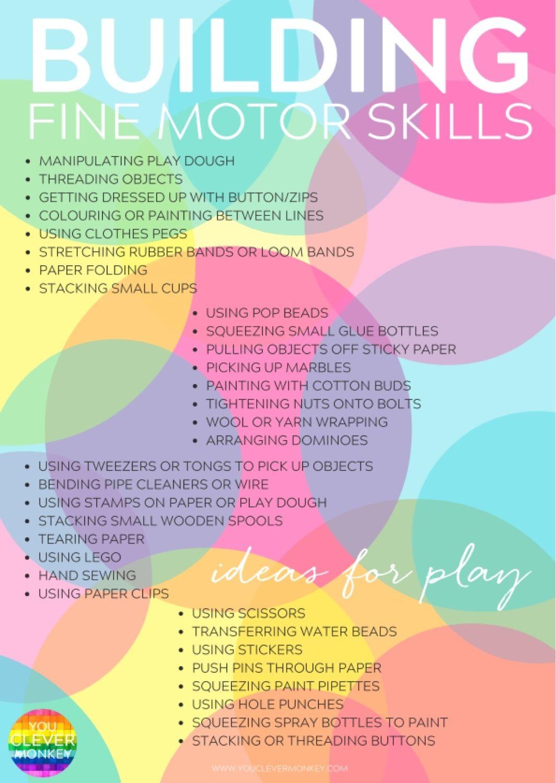 Image Result For Gross Motor Skills Poster