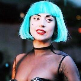 Lady Gaga Blue Hair Lady Gaga Hair