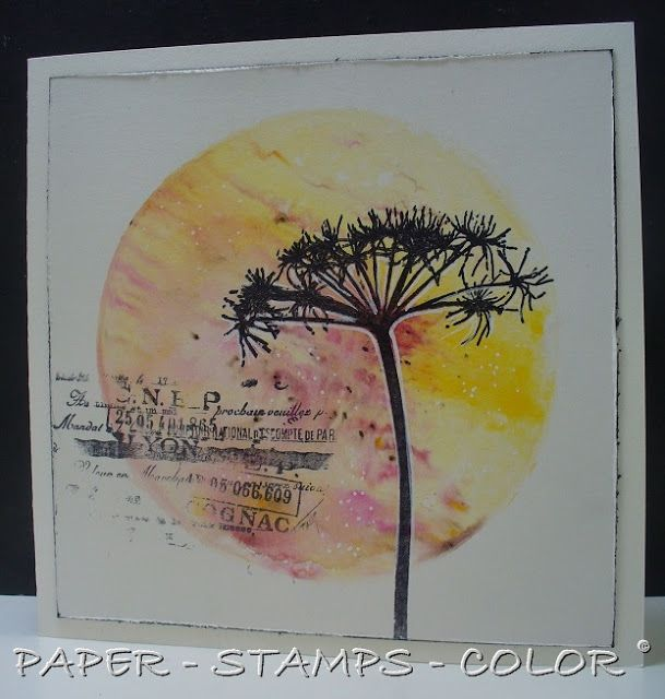 PAPER - STAMPS - COLOR: Gelliprinting with Fresco Acrylic Paints and Infusions