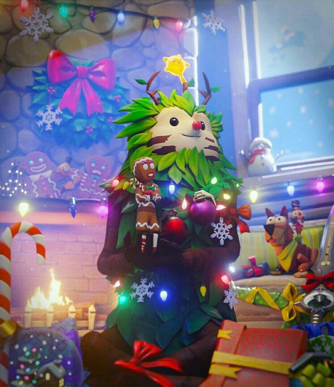 Merry Christmas Fortnite Christmas Wallpaper Fortnite Season 11 Gaming Wallpapers