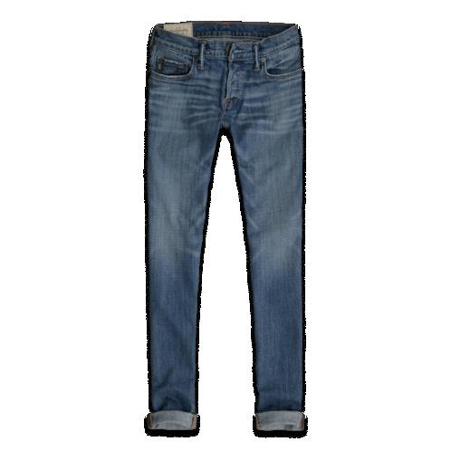 A & F Super Skinny Jeans - Vintage Light Wash